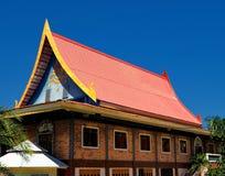 Beautiful pavilion at Thai temple Stock Photo