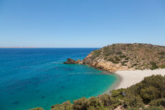 Beautiful peaceful tropical beach Royalty Free Stock Photo