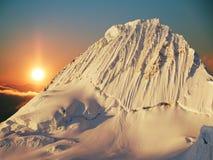 Beautiful peak Alpamayo Stock Image