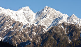 Beautiful peaks of Himalayas Royalty Free Stock Photos