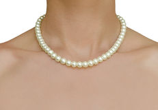 Beautiful pearl jewelry Royalty Free Stock Image