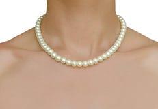 Beautiful pearl jewelry Royalty Free Stock Image