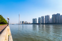 Beautiful pearl river Stock Image