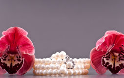 Beautiful Pearls Royalty Free Stock Photo