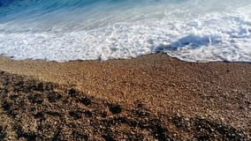 Bol, Island of Brac, Croatia, Dalmatia. Beach Zlatni rat Golden Cape stock photo