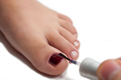 Beautiful Pedicure Stock Photo