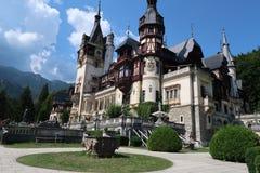 Peles Castle, Romania stock images