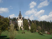 Beautiful Peles castle, Transylvania Royalty Free Stock Photography
