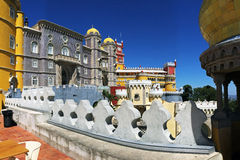Beautiful Pena Palace in Sintra, Portugal Royalty Free Stock Photo