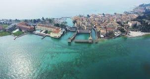 Beautiful peninsula in Italy. A stock photo