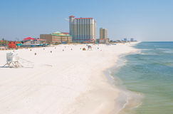 Beautiful Pensacola Beach Stock Image