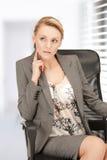 Beautiful pensive woman Royalty Free Stock Photo