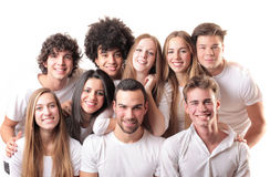 Beautiful people Royalty Free Stock Image