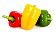 Beautiful peppers Stock Photos
