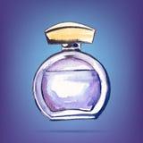 Beautiful perfume bottle. Royalty Free Stock Image