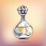 Beautiful perfume bottle. Stock Photography