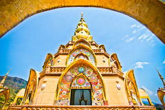 Beautiful Pha Son Kaew Pagoda. Main Pagoda at Pha Son Kaew Temple Royalty Free Stock Photography