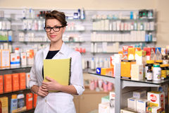 Beautiful pharmacist Royalty Free Stock Images