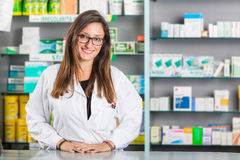 Beautiful Pharmacist Stock Photos