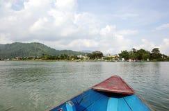 Beautiful Phewa Lake of Pokhara Royalty Free Stock Image