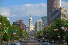 Beautiful Philadelphia skyline Royalty Free Stock Photography