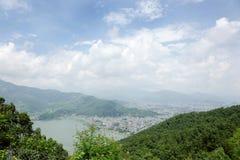 Beautiful Phokara valley Royalty Free Stock Photo