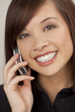 Beautiful Phone Call Stock Photography