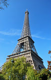 Beautiful photo of the Eiffel tower in Paris Royalty Free Stock Image