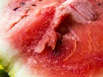 Beautiful photo with Fresh sliced watermelon close-up. Beautiful photo  with  Fresh sliced watermelon  close-up. Natural background Royalty Free Stock Images