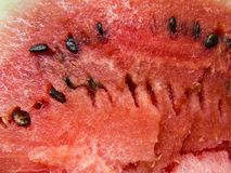 Beautiful photo with Fresh sliced watermelon close-up. Beautiful photo  with  Fresh sliced watermelon  close-up. Natural background Stock Photo