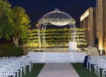 Jewish Hupa , wedding putdoor . Royalty Free Stock Photo