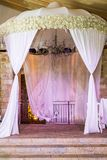 Jewish Hupa , wedding putdoor . Beautiful photo of the Jewish Hupa , wedding putdoor Royalty Free Stock Photos