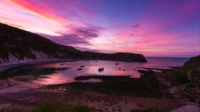 A beautiful photography spot on the south west coast of England, on the jurassic coast.  royalty free stock photo
