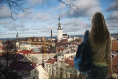 beautiful photos of Tallinn Stock Image