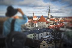 beautiful photos of Tallinn Stock Photo
