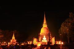 The Lord Buddha`s Night Pagoda royalty free stock photo