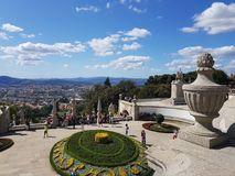 Braga city, Portugal - A beautiful place Stock Images