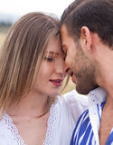 Beautiful picture of couple in love Stock Images