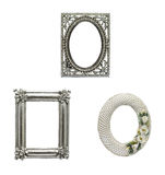 Beautiful picture frame set 2 Stock Image