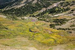 Scene from Rocky Mountain National Park stock photography