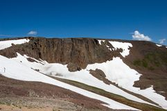 Scene from Rocky Mountain National Park royalty free stock photo