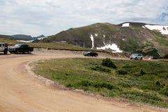 Scene from Rocky Mountain National Park stock photo