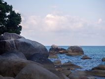 Beautiful pictures on the island of Phangan stock images