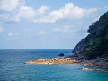 Beautiful pictures on the island of Phangan royalty free stock photography