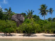 Beautiful pictures of sandy beaches on Koh Phangan royalty free stock photo