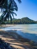 Beautiful pictures of sandy beaches on Koh Phangan stock photo