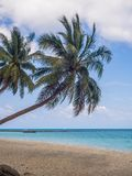 Beautiful pictures of sandy beaches on Koh Phangan stock images
