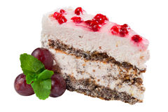 Beautiful pie air dessert, isolated Royalty Free Stock Photography