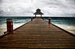 Beautiful pier Royalty Free Stock Photos