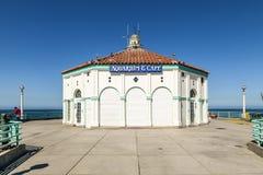 Beautiful pier at Hermosa Beach. In California Stock Image
